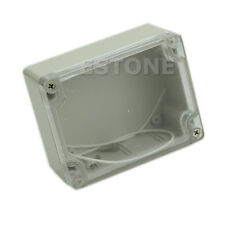 Plastic Waterproof 115*90*55MM Clear Cover Electronic Project Box Enclosure Case