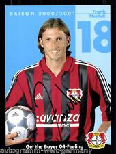 Frank Hejduk Bayer Leverkusen 2000/01 TOP AK+  +A 67737