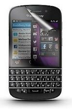 10 X Clear Screen Protectors Cover Film for BlackBerry Q10 BB Q10 & Free Cloth
