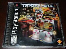 ***TWISTED METAL PS1 PLAYSTATION 1 BLACK LABEL COMPLETE***