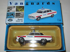 Vanguards Rover 3500 V8 Police Car Hampshire Constabulary Mint/Boxed