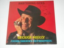 GEORGE MELLY John Chilton's Feetwarmers ANYTHING GOES LP UK Jazz SIGNED