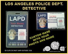 "LAPD ""Detective""  ID set OO DIVISION COLLECTOR SET"