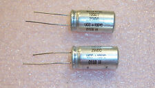 QTY (75)  1000uf 25V 105' RADIAL LOW IMPEDANCE ELECTROLYTIC 678D102M025 UCC