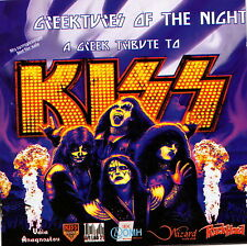 A Greek tribute to KISS - Greektures of the night (2 CDs) + 2 free promo CDs!!!