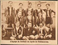 SPORT EQUIPE FOOTBALL DE CHATEAUROUX IMAGE 1929