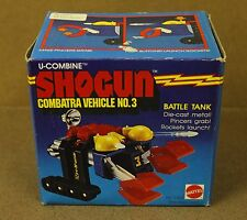 Shogun Combatra Vehicle No. 3 Box Mattel