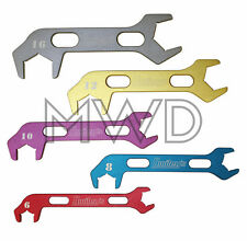 Pro Aluminum AN Hose End Fitting Line Wrench Set 6,8,10,12,16