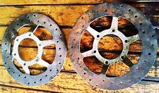 GUZZI coppia di dischi freno v35c V50 II V65 SP V75 florida nevada imola lario