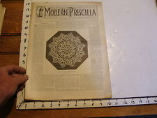The Modern Priscilla : lynn Mass 1899 JULY : vol XIII # 5 RETICELLA LACE