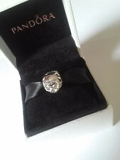 Pandora Infinity Heart Clip Charm #791947CZ  Sterling Silver Infinity Heart Clip