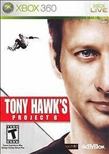 XBOX 360 TONY HAWK'S PROJECT 8  BRAND NEW SKATEBOARD