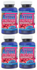 4X Raspberry Ketone Lean Fat Burner Weight Loss 1200 mg 240 Caps Diet Keytones