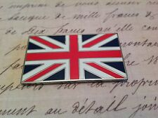 UNION JACK GB CAR BADGE FLAG WITH 3M S/A JAGUAR LAND ROVER CLASSIC CAR