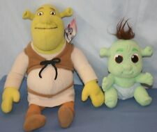 Plush Shrek 2 Ogre and Baby Ogre Plush Stuffed Animal Toy Dream Works