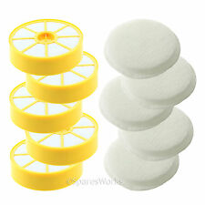 Washable Pre & Post Motor Filter Pad Kit (Non-HEPA) for Dyson DC14 Vacuum x 5