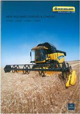 NEW HOLLAND COMBINE - CX5080 CX5090 CX6080 CX6090 BROCHURE - BX105