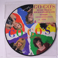 GO-GO'S: We Got The Beat / Our Lips Are Sealed 45 (picture disc) Rock & Pop