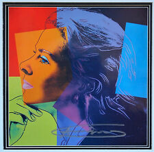 "(496) Andy Warhol, HANDSIGNIERT, ""Ingrid Bergman - Herself"""