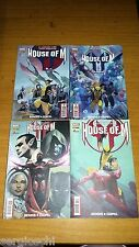 HOUSE OF M 1 2 3 4-SERIE COMPLETA-INCREDIBILI XMEN-NUOVI VENDICATORI-MARVEL-SW8