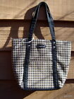 LONGABERGER brown checkered TOTE/purse/handbag~new designed in America