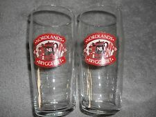 ARCOROC FRANCE - BEER GLASSES - NORDLANDS BRYGGERIET