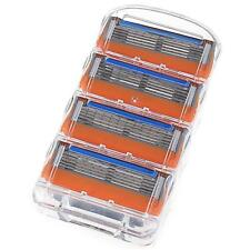 8pc/Set Man Shaving Razor Refills Cartridge Blade 5 layer For Gillette Fusion LL