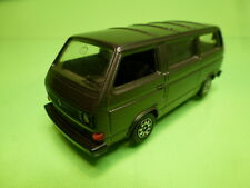 SCHABAK 1040 VW VOLKSWAGEN T3 CARAVELLE- METALLIC GREY 1:43 - GOOD CONDITION