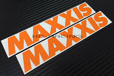 Maxxis Stickers Decals Slick Tires Free Shipping x 2