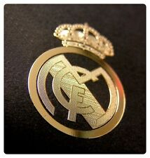 REAL MADRID 24k gold Emblem radiation sticker Soccer Souvenir patch badge shirt