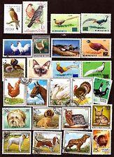 TOUS PAYS  Animaux de basse-cour, oiseaux,chiens et divers   H227
