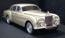 MCG MODELS 1/18 DIECAST 1965 ROLLS ROYCE SILVER CLOUD III 3 FLYING SPUR LT. GOLD