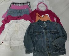 Girls 5T month clothes lot Toddler Summer Fall Gymboree OshKosh Skechers