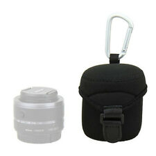JJC JN-M Lens Case Bag Pouch for Nikon 10-30mm 18mm 50mm 18 60mm 17mm 45mm 9mm