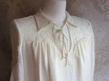 NEW Marks And Spencers Woman, Size 14 Elegant Dress, Chiffon, Colour Ivory.
