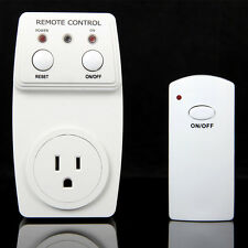 Wireless Remote Control AC Electrical Power Outlet Plug Switch Socket USA Plug