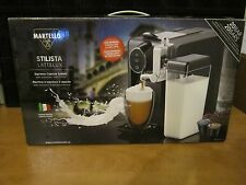 Espresso Maker Martello Cafe Capsule System/ Milk Frother 30 Capsules Included
