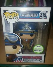 FUNKO POP CAPTAIN AMERICA, THE FIRST AVENGER SPRING CONVENTION EXCLUSIVE 219