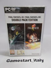 FINAL FANTASY VII & VIII 7 8 DOUBLE PACK - PC - NUOVO NEW