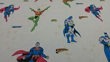 Disney Licensed Superman Batman Comic Cartoon Cotton Curtain Craft Fabric