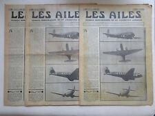 AILES 1935 733 WIBAULT MORANE MS-275 BLOCH OEHMICHEN HENDON ANGERS RATIER POU