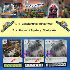 DC COMICS DICE MASTERS TRINITY WAR OP KIT 2 - 1 Constantine + 3 House of Mystery