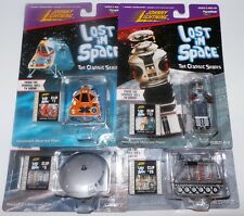 LOST IN SPACE : CHARIOT, ROBOT B-9, JUPITER 2, SPACE POD CARDED MODELS