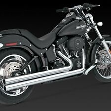 1986-2011 HARLEY SOFTAIL BIG SHOTS LONG Full Exhaust (VANCE AND HINES 17923)