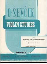Sevcik: Studi per Violino op.1 Parte 2 - Bosworth
