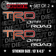 *NEW* 4X4 OFFROAD DECAL STICKER TACOMA TRD LANDCRUISER RAV4 CELICA JDM HILUX 750