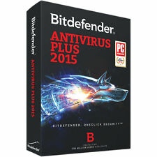 BitDefender Antivirus Plus 2015 1 Year 3 PC, Windows 7,8,10