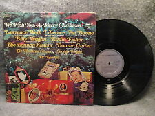 33 RPM LP Record We Wish You A Merry Christmas Pickwick 33 Records SPC-1004