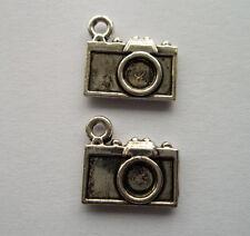 20pcs Tibetan silver metal alloy camera charms pendant 12 x13 mm