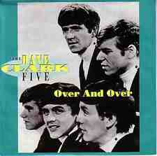 """THE DAVE CLARK FIVE  Over And Over PICTURE SLEEVE 7"""" 45 rpm vinyl record NEW"""